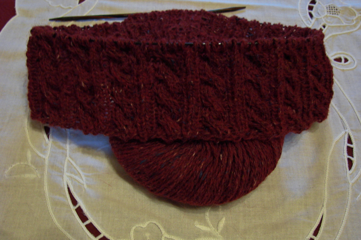Pullover in Tweed
