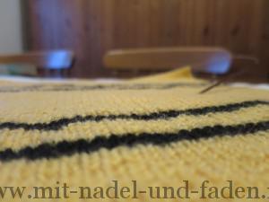 Hufflepuff Schal Detail