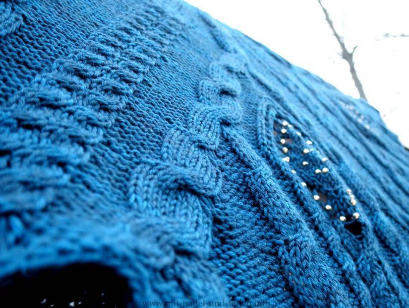 Ein Tuch in Blau sollte es werden