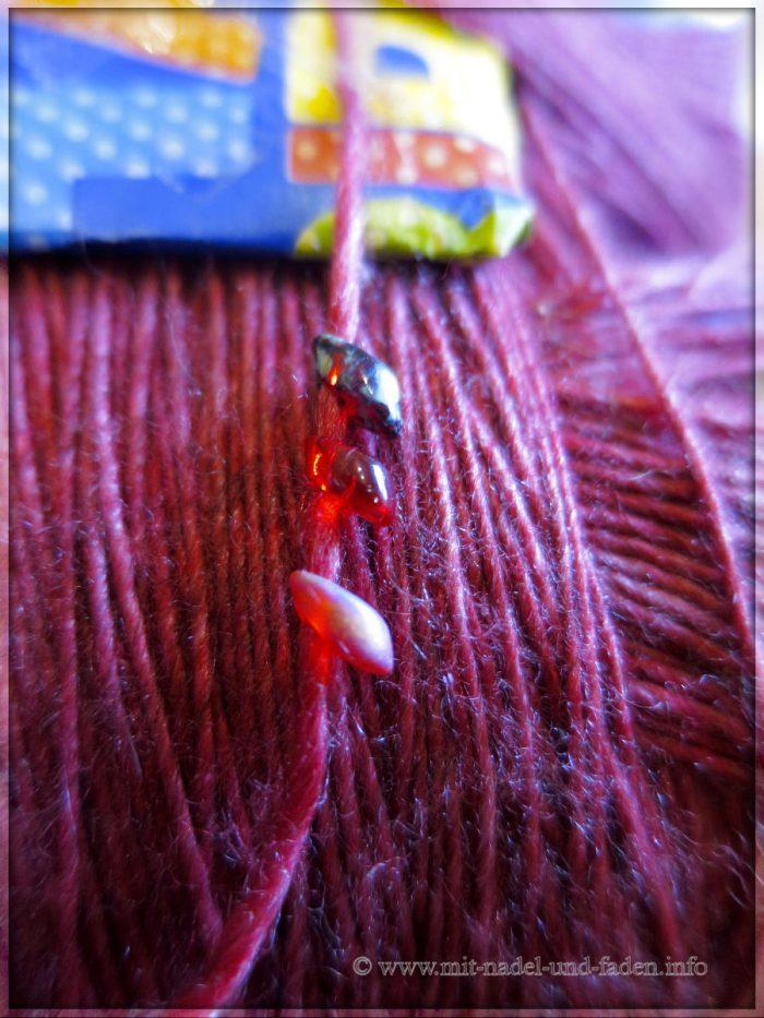 Stricklilly's bunte Wolle - Merino Seide & Yak