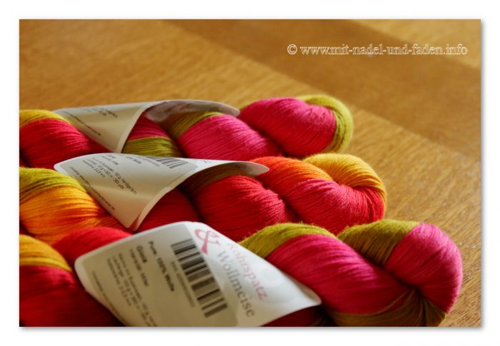 Rohrspatz & Wollmeise Pure 100% Merino Superwash - Gioia
