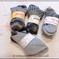 Auftragssocken - Wie viel Socken kann man aus 200g stricken?