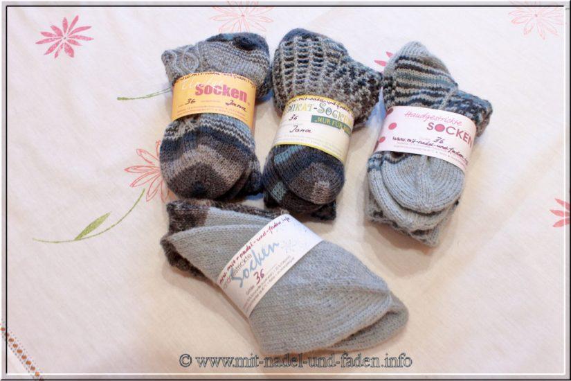 Auftragssocken – Wie viel Socken kann man aus 200g stricken?