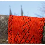 Irish Eyelets in Orange