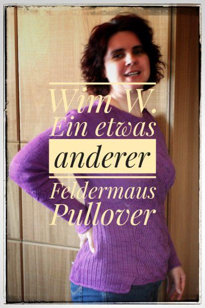 Wim W. – ein etwas anderer Feldermaus Pullover