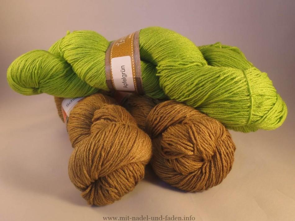 1000schön - Sockenwolle mit Seide und Elfe (Lace) mit Seide